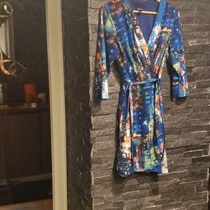 Beautiful dress by Oleg Cassini